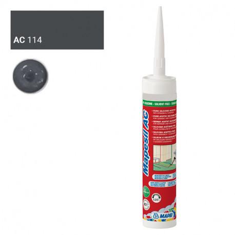 Mapesil AC 114 Antraciet (keramiek)