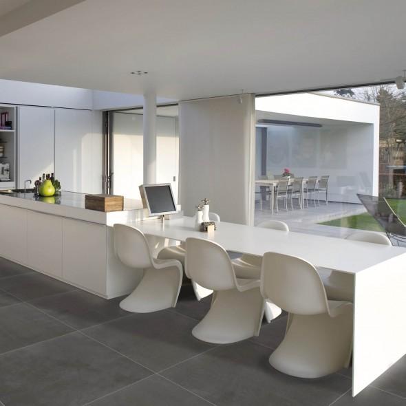 keramische vloertegel, vloertegels, betonlook, impermo