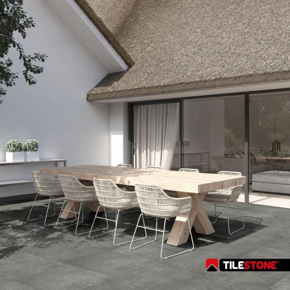Tilestone Essentials Blue Stone Light - keramische terrastegel, blauwe steen - licht grijs