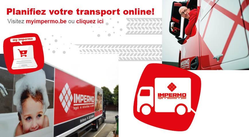 planifier votre transport online